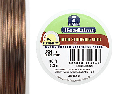 Beadalon Nylon Coated Stainless Steel .024