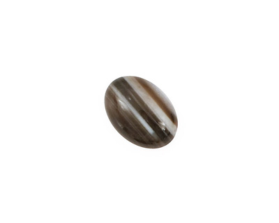 Black Sardonyx Oval Cabochon 10x14mm