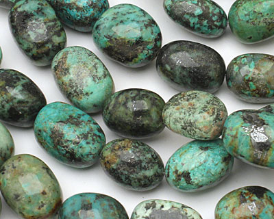 African Turquoise Nugget 20x15mm