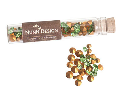 Nunn Design Peridot Crystal Chaton 5g