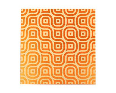 Lillypilly Orange Maze Anodized Aluminum Sheet 3