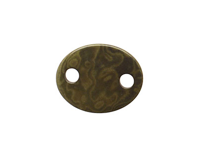 Tagua Nut Olive Oval Link 24x19mm