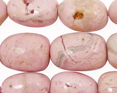 Rhodochrosite (soft pink) Tumbled Nuggets 13x10-24x13mm