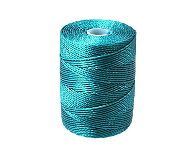 C-Lon Teal (.5mm) Bead Cord