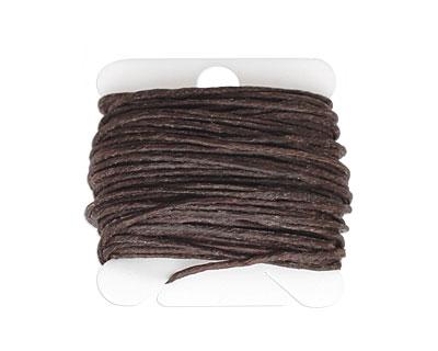 Dark Chocolate Irish Waxed Linen 7 ply