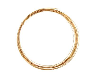 German Style Wire Non Tarnish Brass Half Round 22 gauge, 5 meters