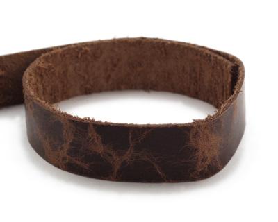 TierraCast Antique Mocha Leather Strap 10