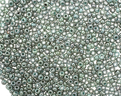 TOHO Marbled Opaque Turquoise/Blue Round 11/0 Seed Bead