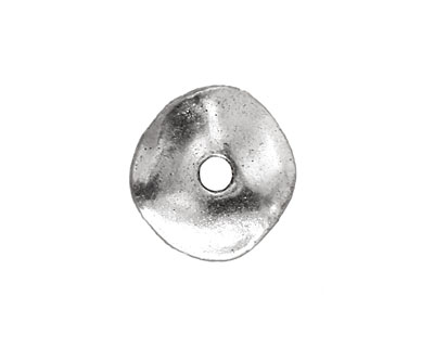 Pewter Wavy Washer 2x18mm