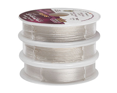 Soft Flex Trios Extreme Sterling Silver Assorted Sizes Wire 3x10ft.