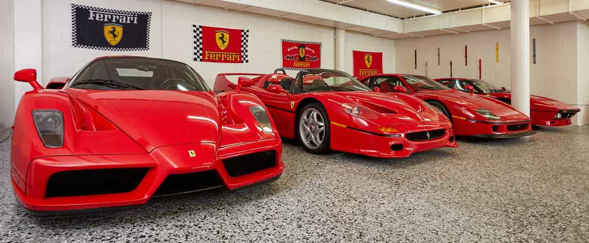 david lee 39 s ferrari collection will make you stay in. Black Bedroom Furniture Sets. Home Design Ideas