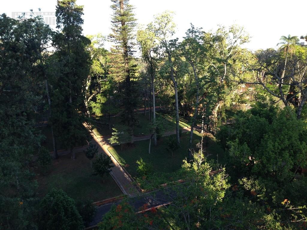 Vista dos quartos (Jardim Público)