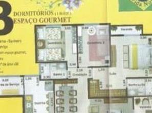 Ver mais detalhes de Apartamento com 3 Dormitórios  em Jardim Vista Alegre - Embu das Artes/SP