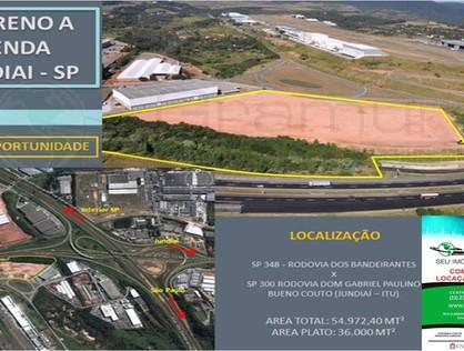 Ver mais detalhes de Terreno com 0 Dormitórios  em Distrito Industrial - Jundiaí/SP