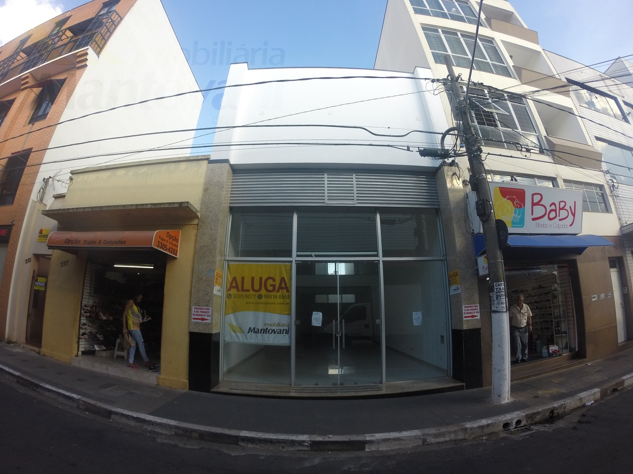 Fachada para Rua Prudente de Moraes