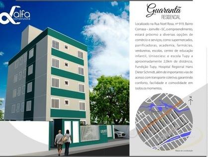 Ver mais detalhes de Apartamento com 2 Dormitórios  em Comasa - Joinville/SC