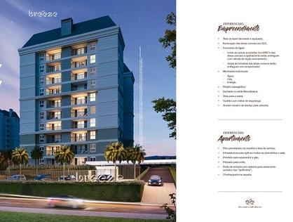Ver mais detalhes de Apartamento com 1 Dormitórios  em Costa e Silva - Joinville/SC