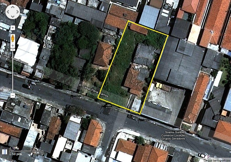 R$ 637,50/M² área 20X40 M