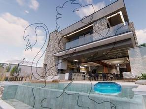 Ver mais detalhes de Casa com 3 Dormitórios  em Parque Santa Márcia - Votorantim/SP