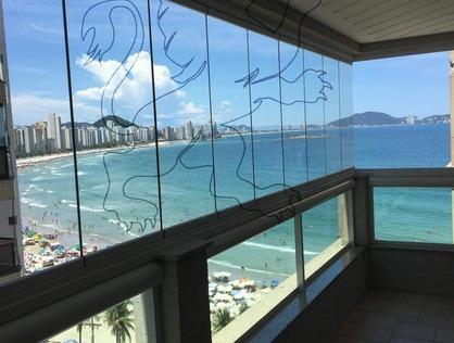 Ver mais detalhes de Apartamento com 3 Dormitórios  em Praia das Astúrias - Guarujá/SP