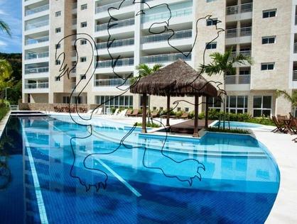 Ver mais detalhes de Apartamento com 3 Dormitórios  em Praia da Enseada - Guarujá/SP