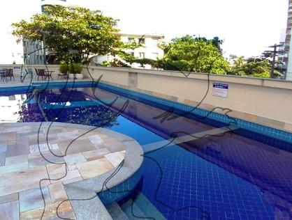 Ver mais detalhes de Apartamento com 3 Dormitórios  em Praia do Tombo - Guarujá/SP