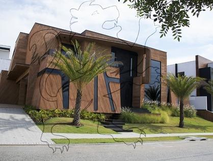 Ver mais detalhes de Casa com 4 Dormitórios  em Alphaville Nova Esplanada III - Votorantim/SP