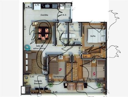 Ver mais detalhes de Apartamento com 3 Dormitórios  em Jardim Emília - Sorocaba/SP