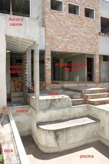 detalhe piscina / sauna