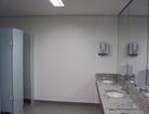 Banheiro do espaço de convenção