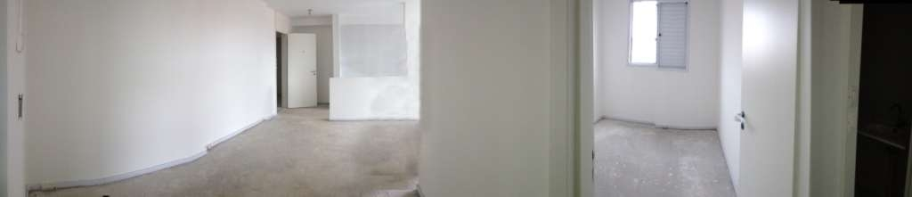 Vista da sala e quarto