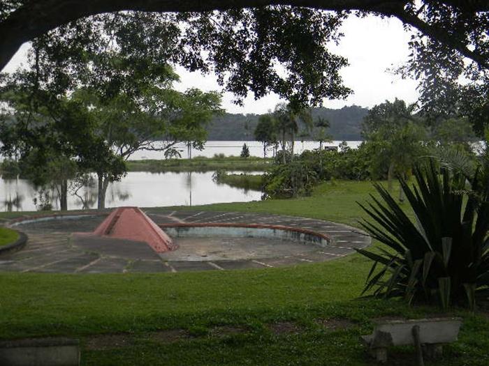 Vista para represa