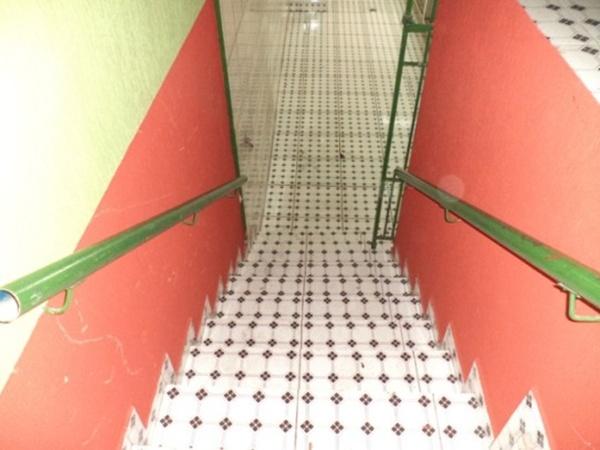 Acessoa o segundo pavimento