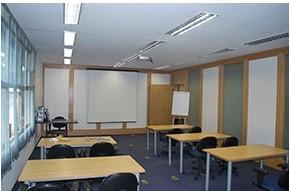 Sala para reunião e apresentação