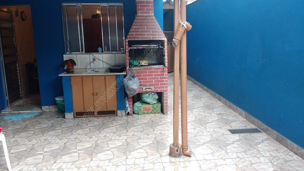Área da churrasqueira