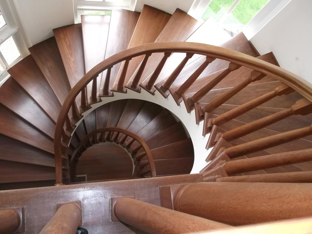 Vista da escada