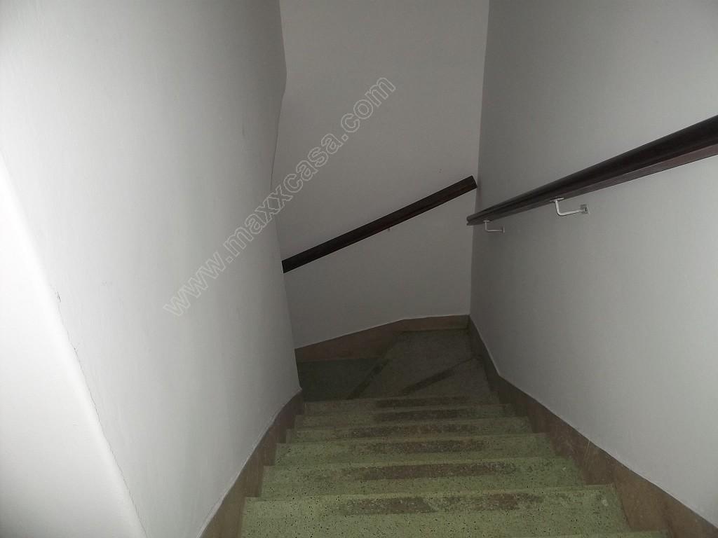 Aceso ao segundo pavimento