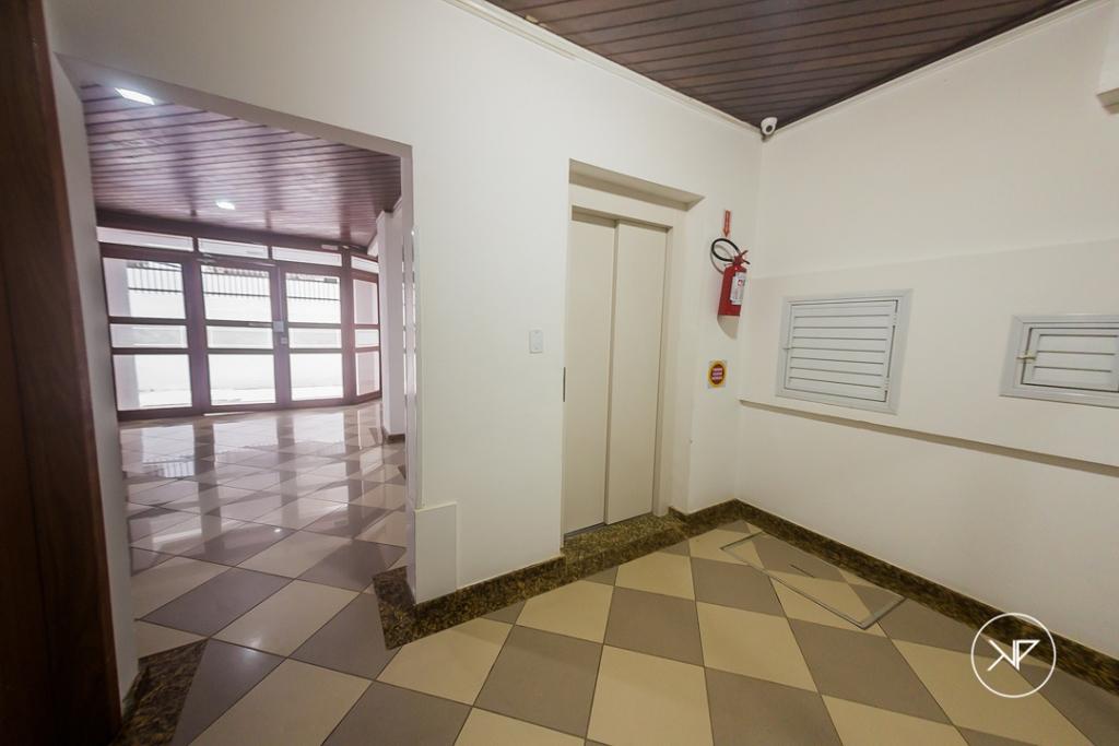 Hall social com elevador