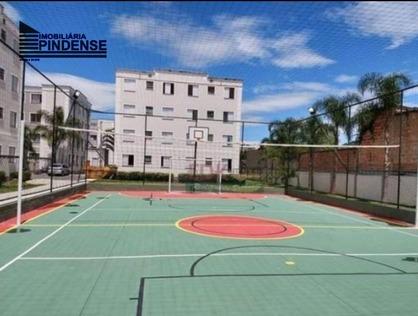 Ver mais detalhes de Apartamento com 2 Dormitórios  em Cond. Pedra Bonita - Pindamonhangaba/SP