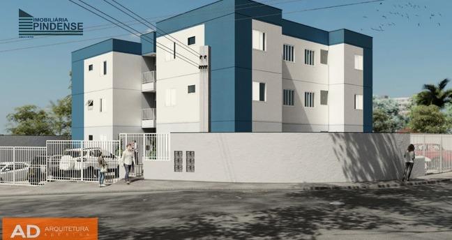 Ver mais detalhes de Apartamento com 2 Dormitórios  em Parque São Domingos, Ed. Vó Lica - Pindamonhangaba/SP