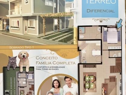Ver mais detalhes de Casa com 2 Dormitórios  em Chácara Faggion - Suzano/SP