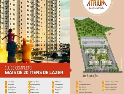 Ver mais detalhes de Apartamento com 2 Dormitórios  em Cambiri - Ferraz de Vasconcelos/SP