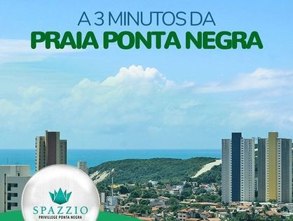 Ver mais detalhes de Apartamento com 2 Dormitórios  em Ponta Negra - Natal/RN
