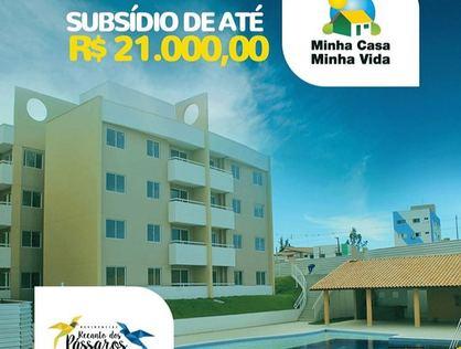 Ver mais detalhes de Apartamento com 2 Dormitórios  em Nova Parnamirim - Parnamirim/RN