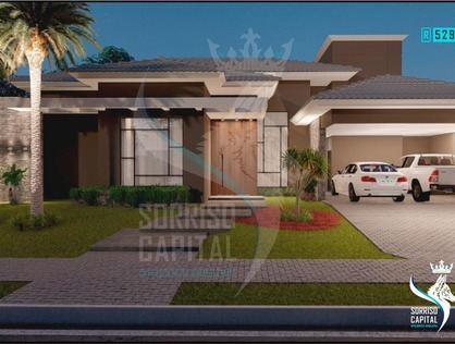 Ver mais detalhes de Casa com 3 Dormitórios  em Condomínio Residencial Cidade Jardim - Sorriso/MT