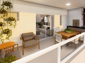 Ver mais detalhes de Apartamento com 2 Dormitórios  em Barreiros - São José/SC