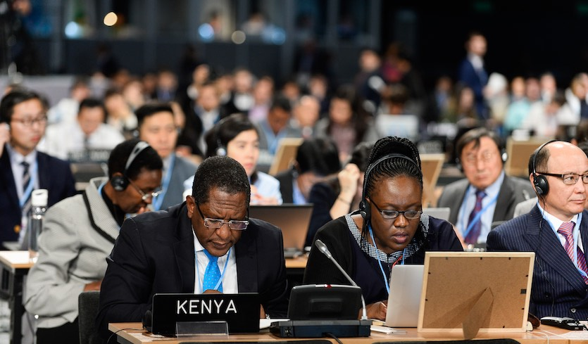 Delegates attend the second part of the high-level segment at the COP24 meeting