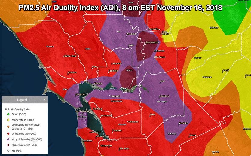 PM2.5 AQI