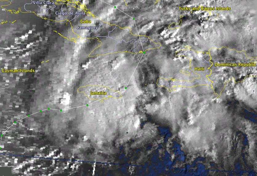 Tropical Storm Gordon of 1994