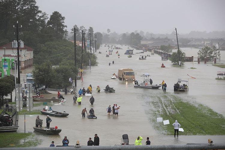 Harvey flood